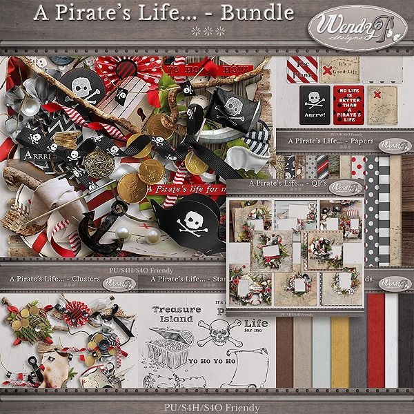 A Pirate's Life... - Bundle by Wendy P designs