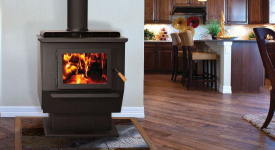 At 88% efficiency, the King from Blaze King is the most efficient wood stove in the world. The King has the largest and deepest firebox of any stove on the market. This stove is great for colder climates, larger homes or heating for longer periods of time. You can fit up to 91 lbs. of wood into the King's 4.32cu.ft. firebox. That's equal to 703,390 BTUs of available wood energy.
