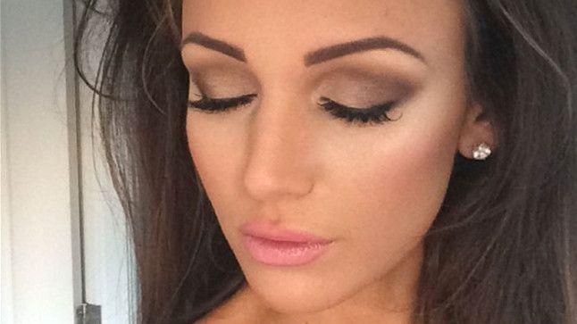 Michelle Keegan: wedding makeup