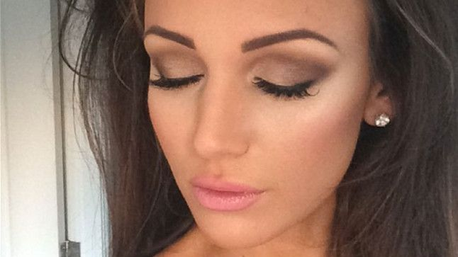 Michelle Keegan: wedding makeup