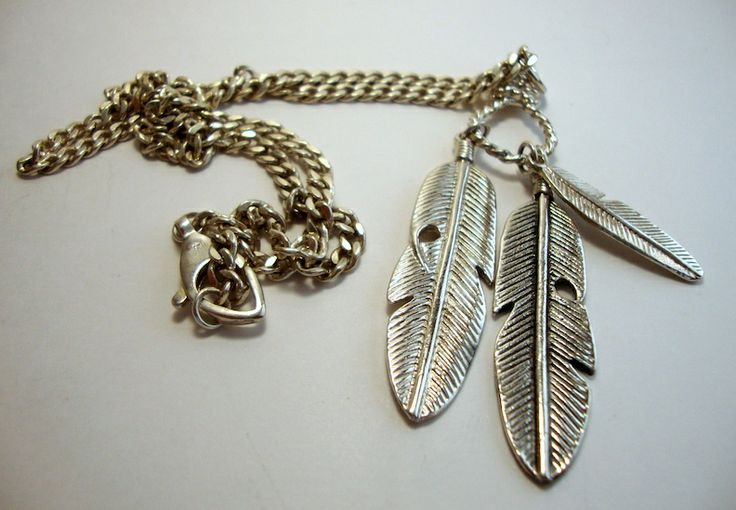 Beautiful Cowboy & Indian Necklace - Handmade Silver Jewelry @ http://thesilveroom.com/index.php/necklaces/silver-cowboy-indian-necklace.html