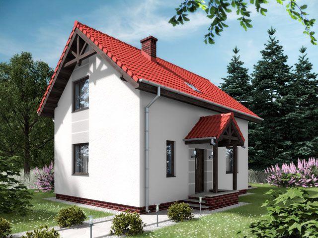 Projekt domu ARD Stokrotka 1 - DOM RD1-42 - gotowy projekt domu