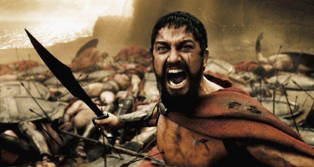 King Leonidas in 300