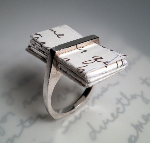 I Thou Ring by One Origin Jewelry: For your latest love letter. #Ring #One_Origin: Ideas, Wedding, Letter Ring, Jewelry, Note, Engagement Rings, Love Letters