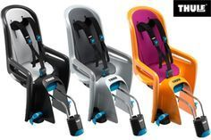 Thule RideAlong child bike seat review - Cool Biking Kids