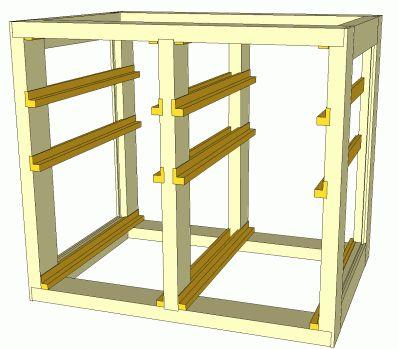 Building a dresser ..... using 2x4 interior framing