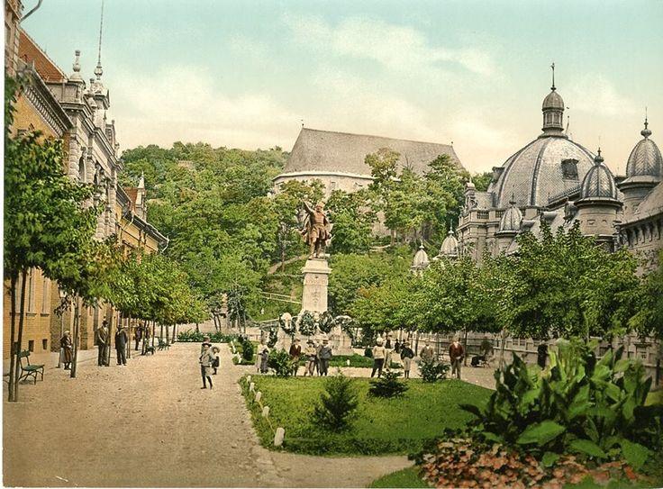 Erzsébet tér, 1899