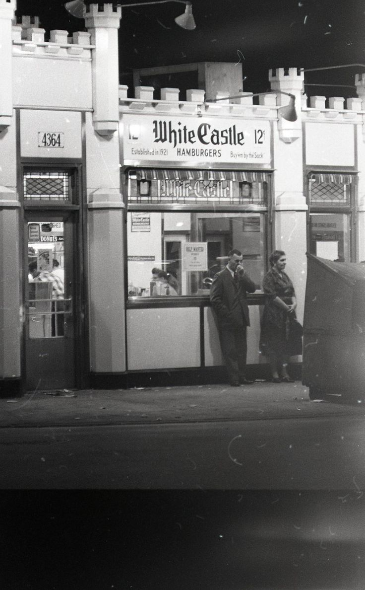 White Castle Hamburgers, 4364 S Archer, 1962, Chicago