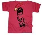 Audrey Hepburn Cat tshirt from Little Monsters