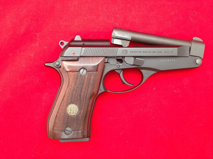 Beretta 86 single stack tip up barrel - wonderful pistol... but those from the USA probably won't like it as they remain convinced you need the biggest bullets!