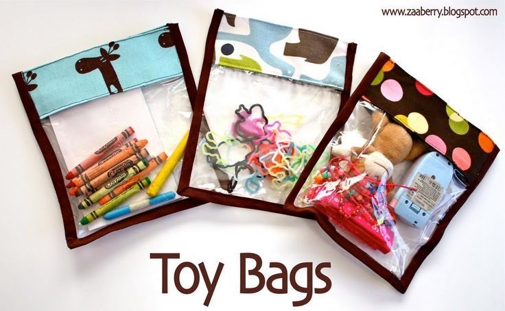 toy bags #gifts #sewing