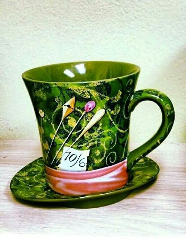 Tim Burton's Alice in Wonderland mug