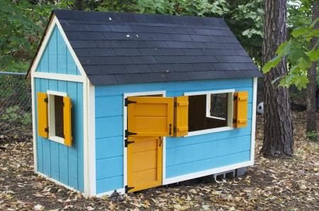 Playhouse | Do It Yourself Home Projects from Ana White – I would love to make t…
