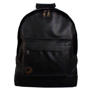 #3Mode49 - Mode49 Jet Black Siyah Deri Sırt Çantası #backpack