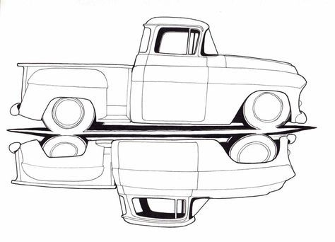 16 best chevy drawings images on pinterest