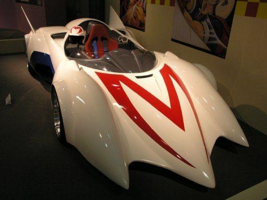 トヨタ博物館で特別展示されていたマッハGoGoGo!のマッハ号。アニメに登場するクルマ特集というテーマで何台か臨時で展示されていたようです。マッハ号のアニメは…