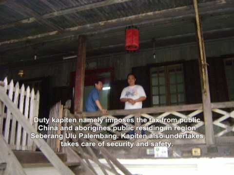 House Kapiten China, having age 400 years is, the only out of 15 style houses China which still remaining in kampong 7 Ulu, Palembang. Formerly, in Dutch col...