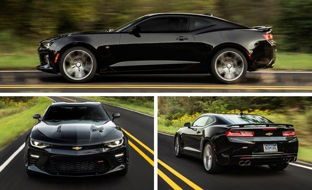 A Corvette with a back seat? That sums up Chevrolet's sixth-generation Camaro SS. Read the full review and see photos at Car and Driver.