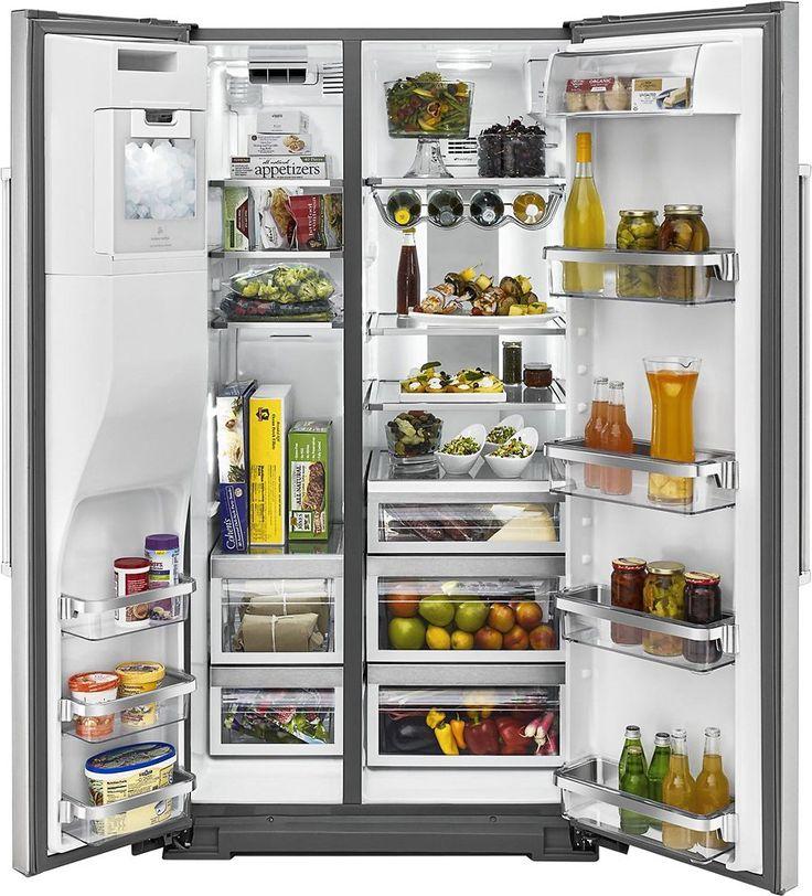Kitchenaid 248 cu ft sidebyside refrigerator