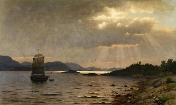 Adelsteen Normann - Section on the Coast