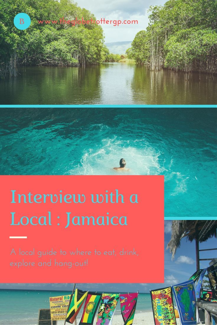 Interview with a local : Jamaica. A local gives us insider info on island life, tells us where to find the best beaches, where to eat, drink, hangout and explore around Jamaica! Read this and more at www.theglobetrottergp.com