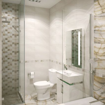 керамическая плитка  для ванной и кухни Уралкерамика Ринальди