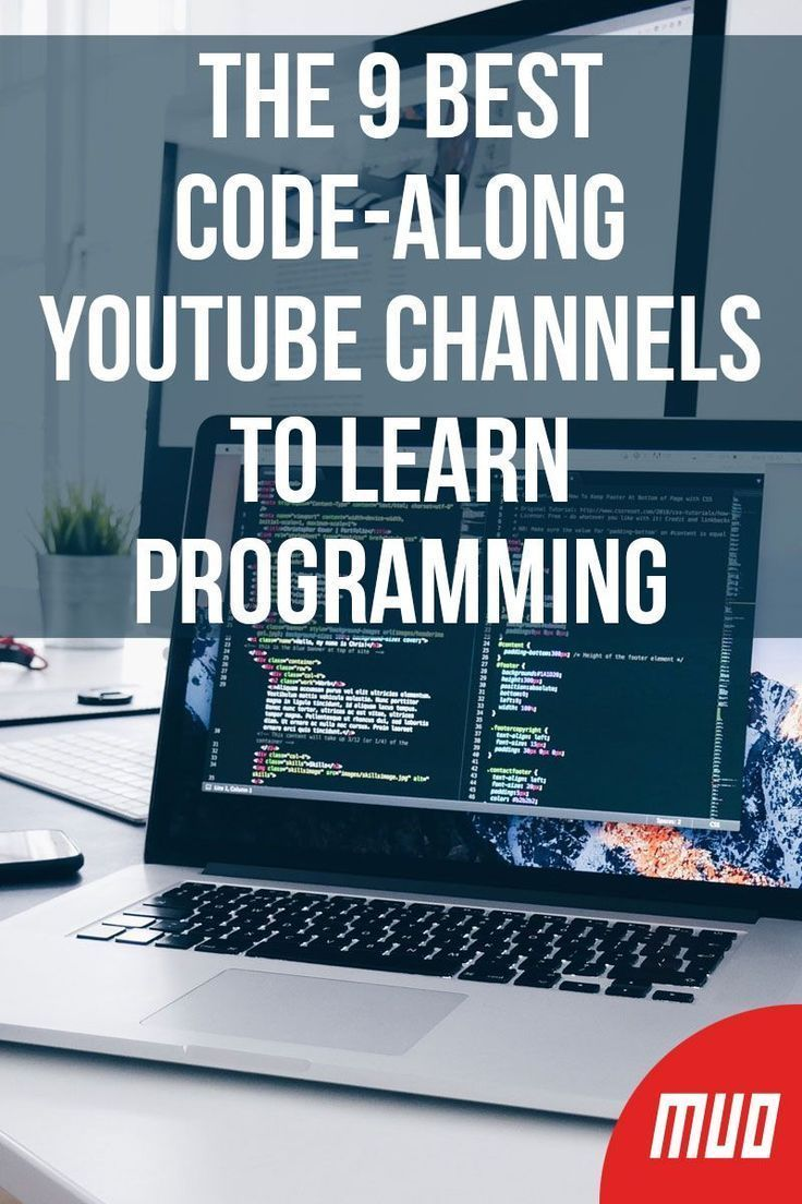 The 9 Best Code-Along YouTube Channels to Learn Programming -  #electronicprojectslearning | Learn computer coding, Learn programming, Learn  computer science