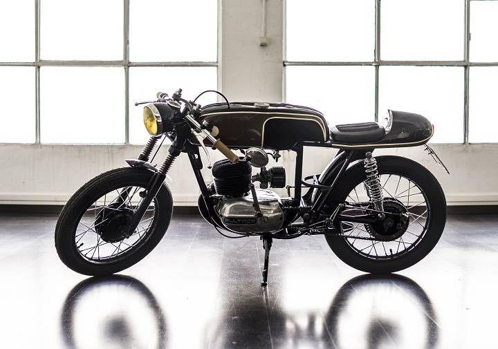 Bultaco Mercurio 155 #caferacer by Gas Department #motorcycles #motos | caferacerpasion.com