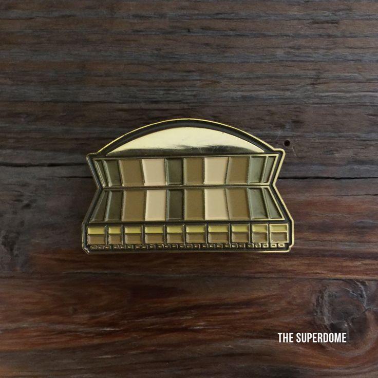 Superdome Enamel Pin