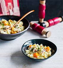 Recipes | Chicken Pumpkin Couscous | Louise Fulton Keats
