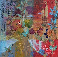 Featured Art - Tapestry of Love by Robin Maria  Pedrero