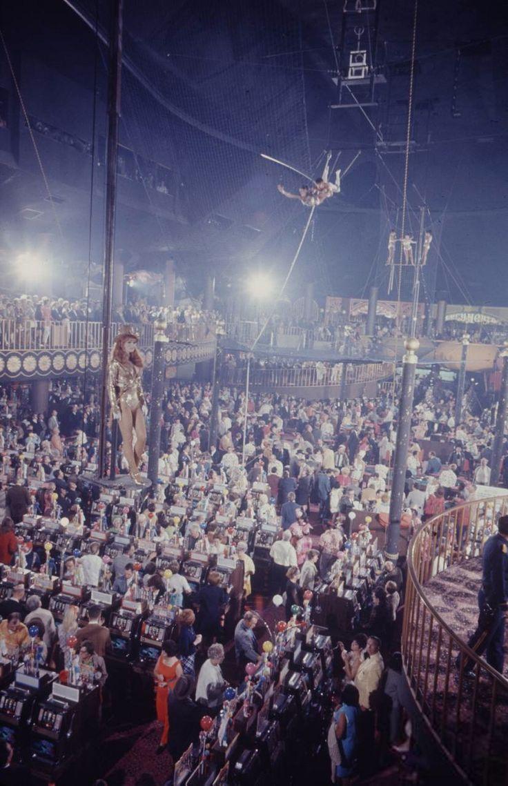 Vintage Las Vegas Photo - Opening night at Circus Circus Casino Oct. 18,1968