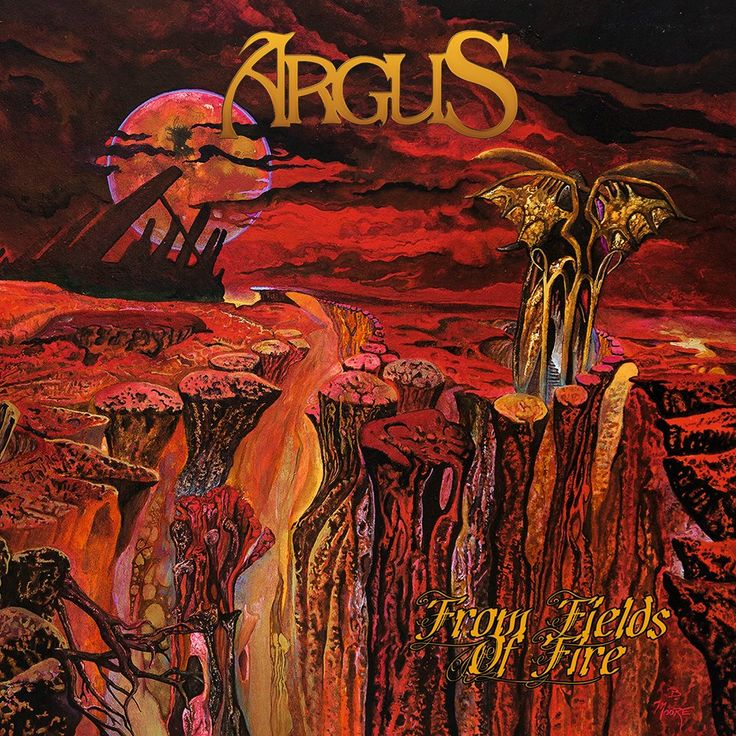 Argus - From Fields of Fire - 2017. Album and Review.