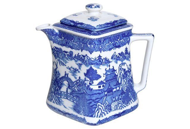 Blue Willow Teapot                                                                                                                                                                                 More