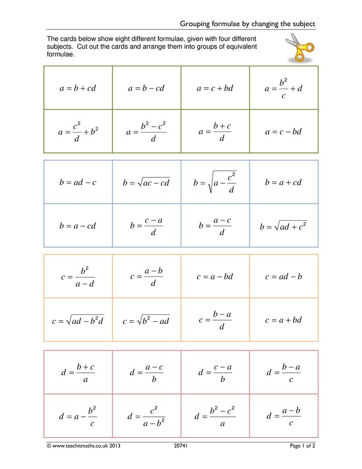 Fun math worksheet on solutions to linear equations. See Numbers ...