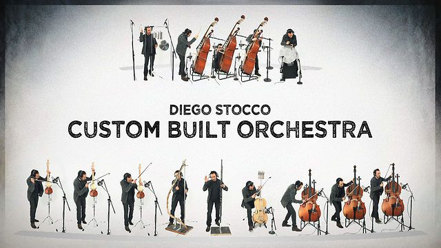 super orchestra with custom instruments