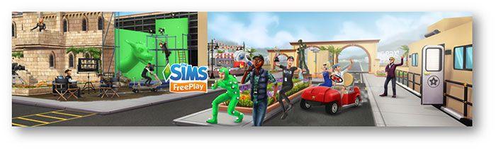 Déroulez le tapis rouge dans les Sims Freeplay - Découvrez tout ce qui se passe dans les coulisses du studio de cinéma de…