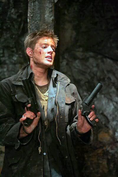 ...because I like them dirty, sweaty and holding their gun. ;-P
