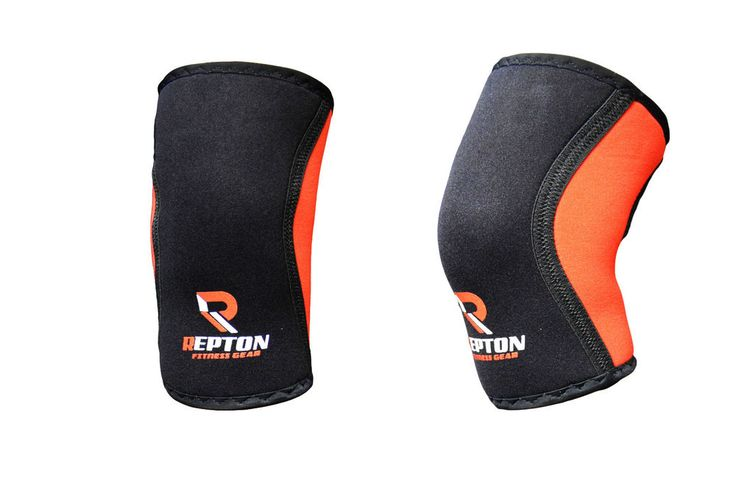 Repton fitness Knee Supports firm compression all around knee and keep it warm for better blood flow and reduce the direct strain on the knees during squats, Oly lifts, etc. Repton fitness Knee sleeves are made from 5mm thick neoprene. | eBay!