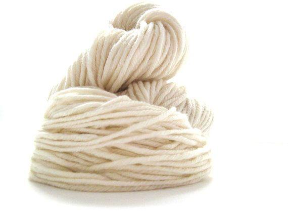 Cormo Undyed Yarn 10Ply Aran Weight TONOFWOOL Tasmania by msgusset, $20.00