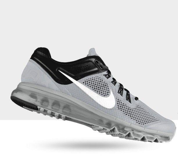Original Nike Air Max+ 2013 iD Running Shoe men Green Black Cheap Sale UK -  : Original Cheap Nike Shoes Ou.