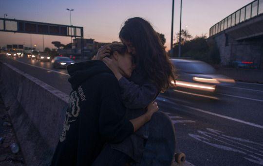 love , couple , hug , forever , pinterest @maua_mery