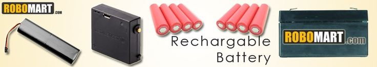 Biggest online megastore for batteries, lipo batteries, rechgargeable batteries and lots more.