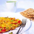 Cajun omelet - recept - okoko recepten