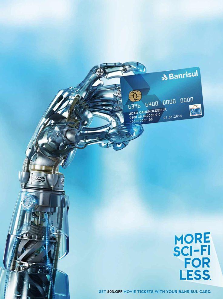 Banrisul Credit Card: Sci-Fi