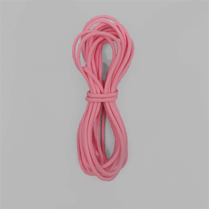 16ft Luminous Rose Pink Paracord Approx 4mm