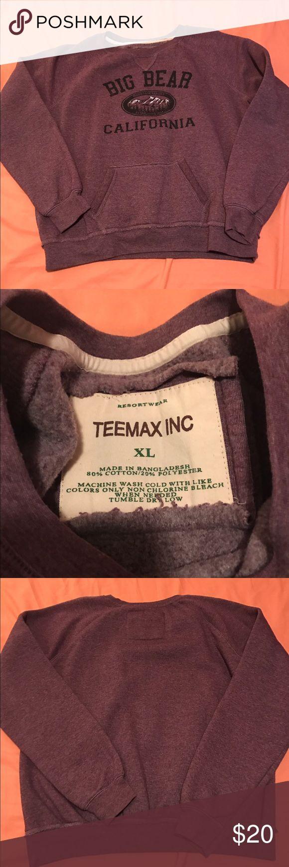 Teemax, INC. Big Bear, California crew sweater Teemax, INC. Big Bear, California crew sweater, women's XL teemax Sweaters Crew & Scoop Necks