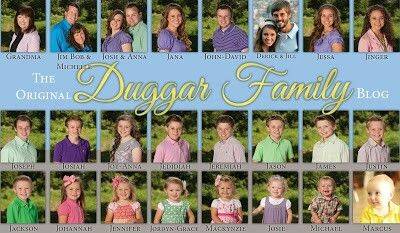Duggar Family named in order