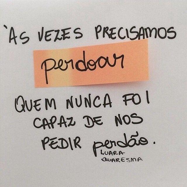 #perdão