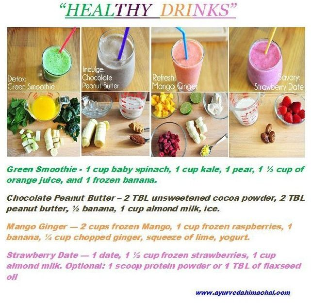 Healthy Drinks: Smoothie Recipe, Get Healthy, Healthy Eating, Health Tips, Eating Healthy, Healthy Food, Healthy Drinks, Healthy Shakes, Healthy Smoothie